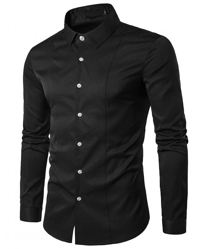 musen Casual Business Dress Sleeve