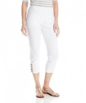 SLIM SATION Womens Solid Pockets Straps