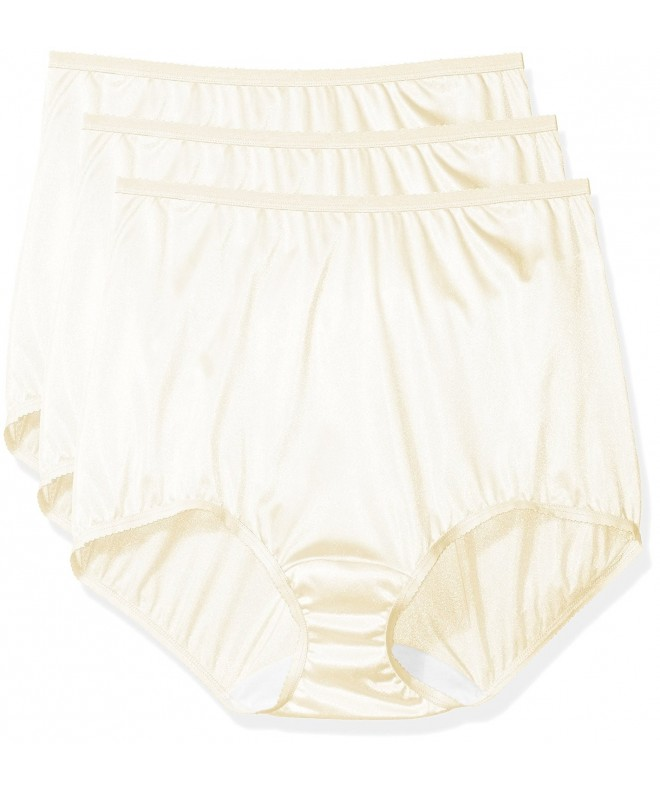 Shadowline Womens Panties Nylon Brief Ivory