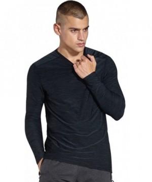 KomPrexx Mens Long Sleeve T Shirts
