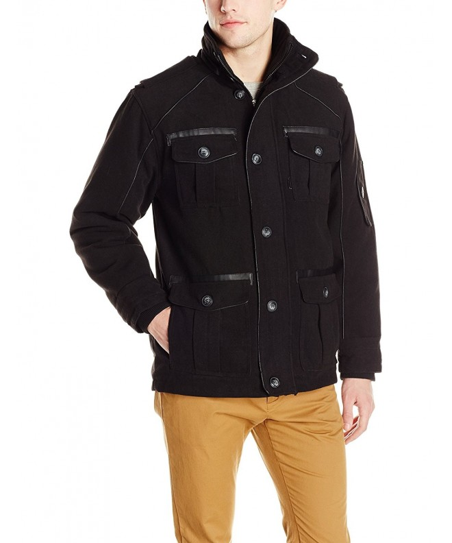 Sportier Mens Quilted Black Large
