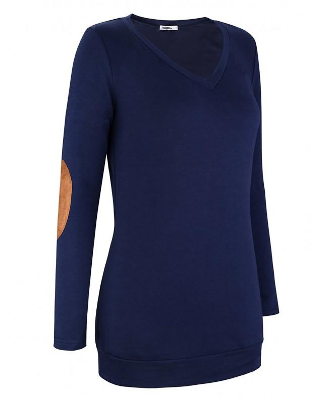 STYLEWORD Womens Sleeve Casual Sweatershirt