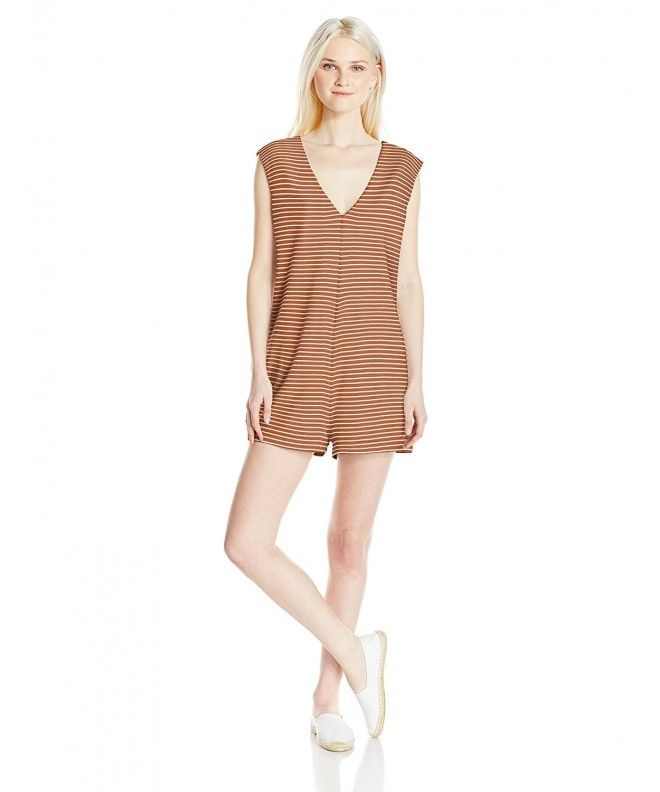 RVCA Juniors V Neck Jumper Ginger