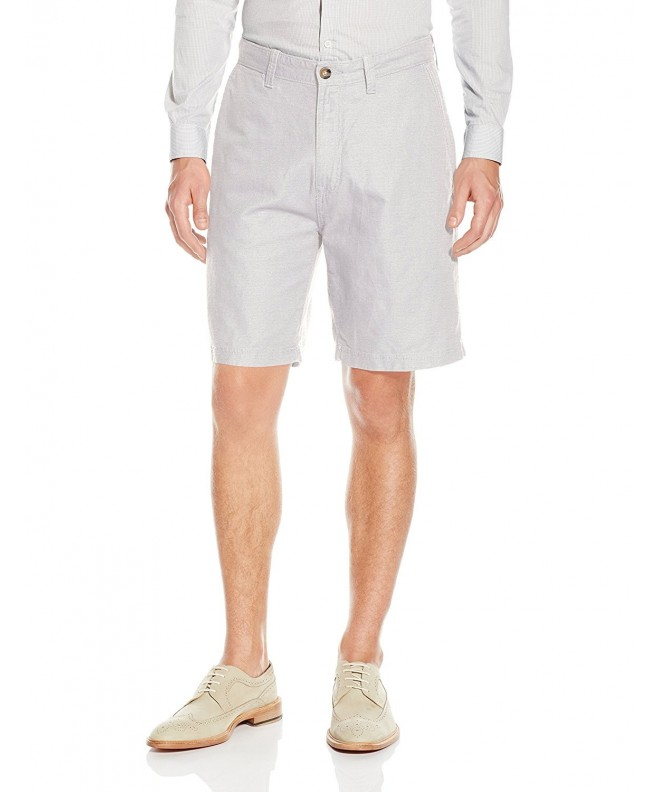 Nautica Linen Cotton Shorts Wheat