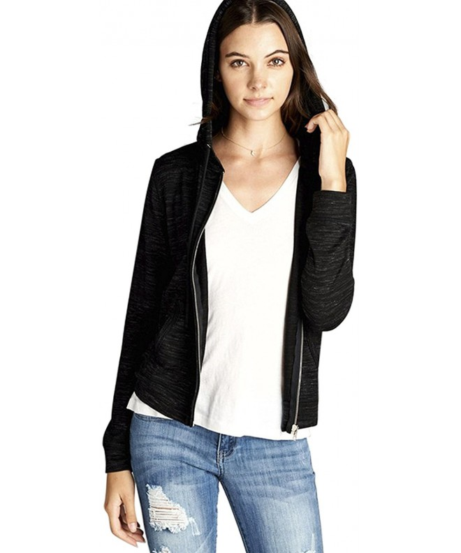 ToBeInStyle Womens French Terry Hoodie