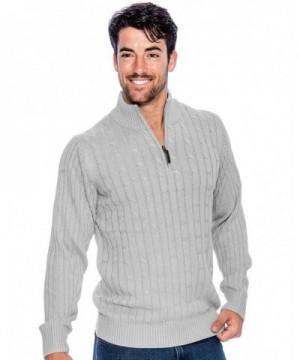Crowns Cotton Sweater Quarter Essentials Gray XL