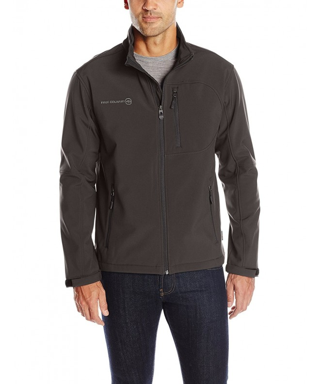 Free Country Softshell Jacket Black