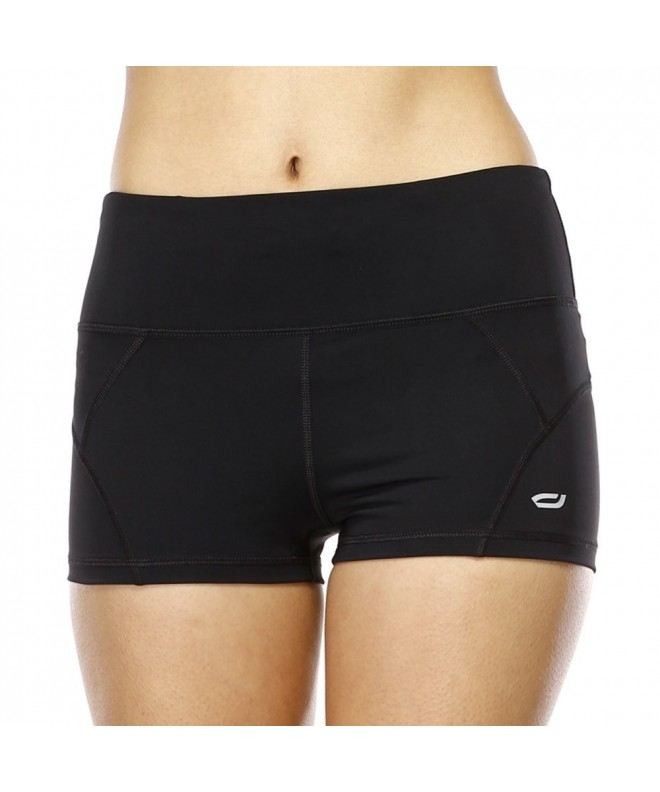 Yvette Womens Compression Sports Shorts