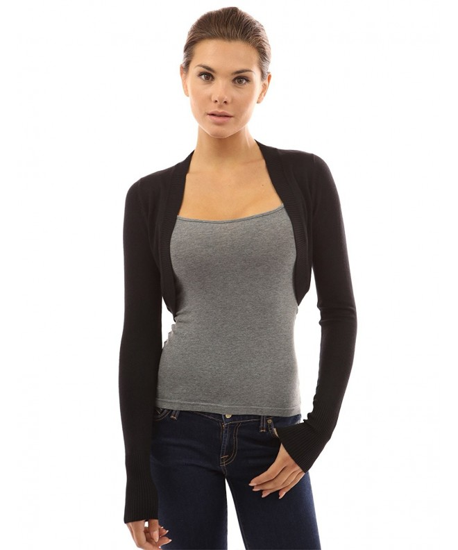 PattyBoutik Womens Bolero Shrug Cardigan