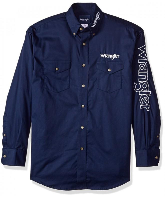 Wrangler Mens Pocket Sleeve Shirt