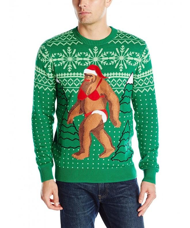 Alex Stevens Sasquatch Christmas Sweater