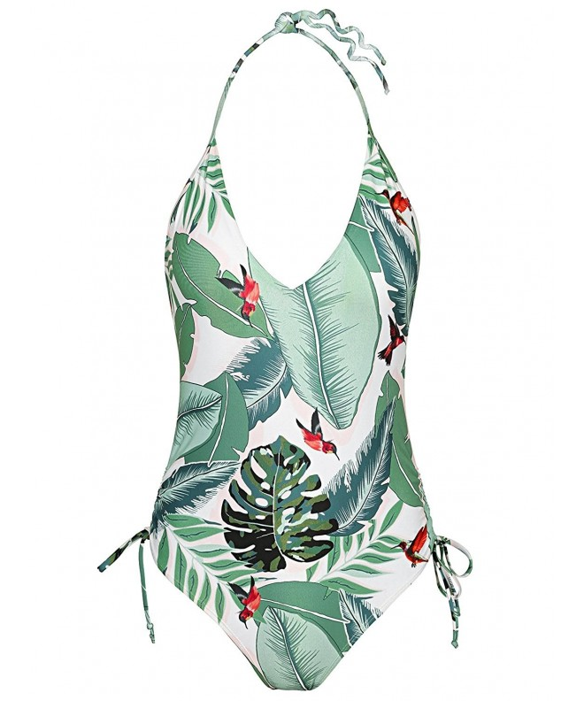 Bikinx Tropical Swimsuit Monokini Swimwear