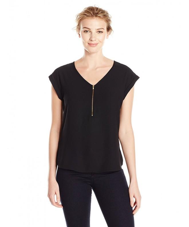 Lark Ro Womens Sleeveless Zipper
