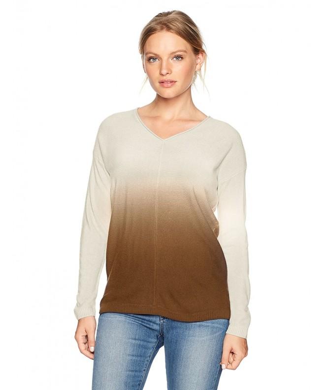 Napa Valley Cashmerlon Sleeves Pullover
