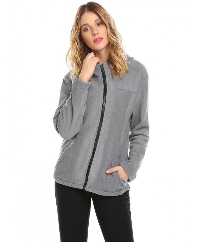 Hotouch Womens fleece jackets Sleeve
