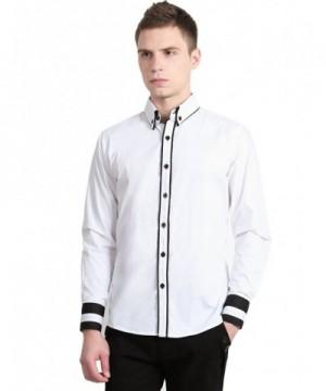 Allegra Contrast Collar Sleeves Button