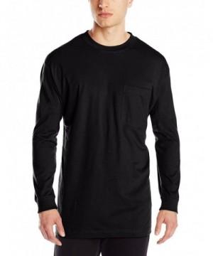 Berne Heavyweight Sleeve Pocket Black