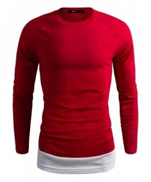 DANDYCLO Sleeve Casual Basic T Shirt
