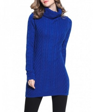 Rocorose Womens Turtleneck Elegant Sweater