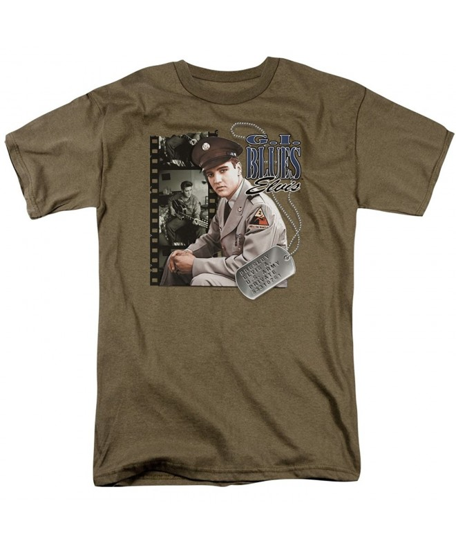 Elvis Presley Blues Adult T Shirt