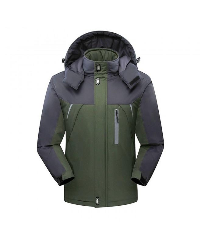 Flyrioc Winter Windproof Outdoor Green