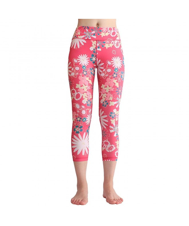 yujiasportshop Leggings Fitness Printed multicoloured A02