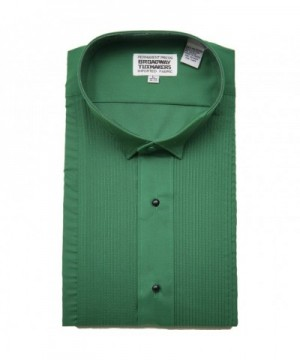 Broadway Tuxmakers Green Tuxedo Shirt
