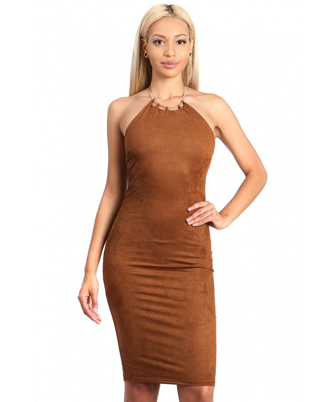 Golden Adjustable Necklace Accent Bodycon
