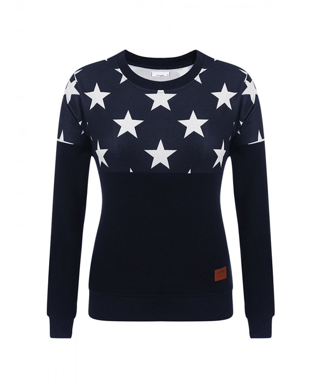 Donkap Womens Sleeve Pullover Sweatshirts