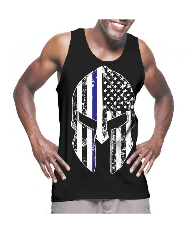 Mens Thin Blue Line American