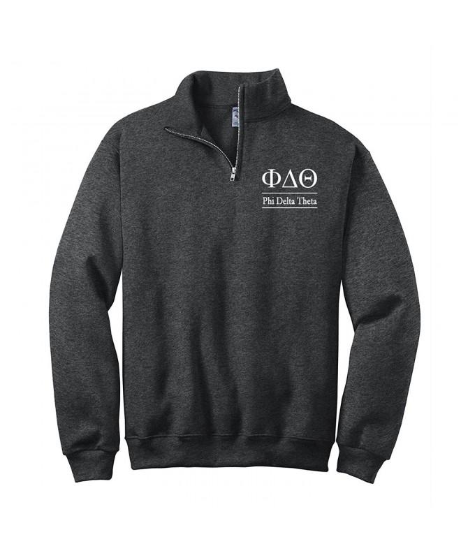 Delta Theta Quarter Pullover Sweatshirt