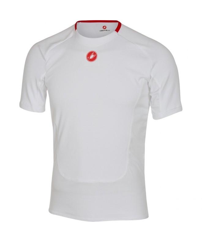 Castelli Prosecco Short Sleeve Baselayer White