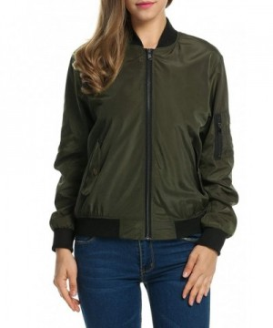 Billti Womens Classic Quilted Bomber