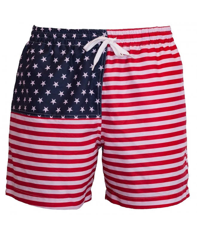 Meripex Apparel Mens American Trunks